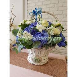 Cos cu flori cu livrare la Cluj