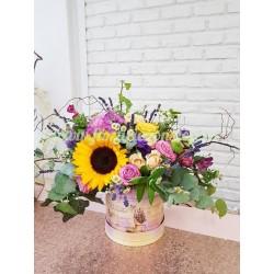 """Cutie cu flori """"Mix of Joy"""""""
