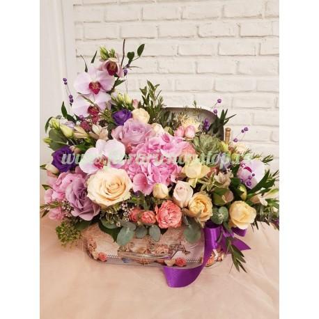 Cutie cu flori Florarie Cluj Napoca