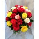 Buchet de 25 de trandafiri