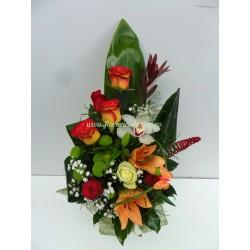 Buchet de flori in semn de multumire