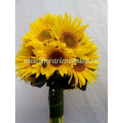 Buchet 23 floarea soarelui - helianthus