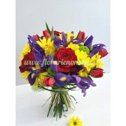 Florarie Non Stop Cluj - Buchet multicolor - United Colors of Joy