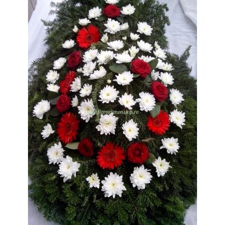 Coroane funerare flori naturale Cluj