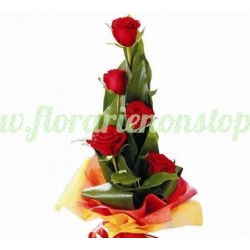 Florarie online Buchet de 5 trandafiri