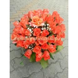 Buchet imens cu trandafiri livrare