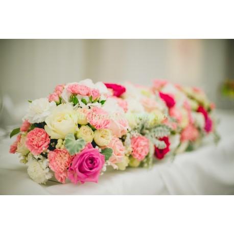 Aranjament floral masa mirilor- prezidiu