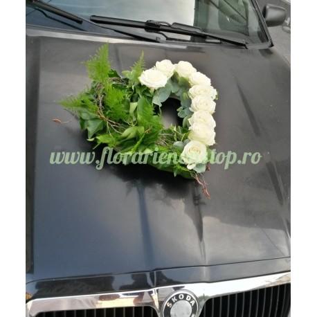 Aranjament floral ventuza