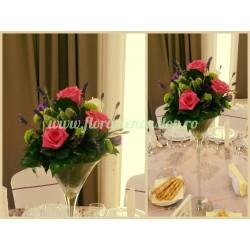 Aranjament floral masa