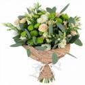 Livrare flori la domiciliu minirose lisianthus
