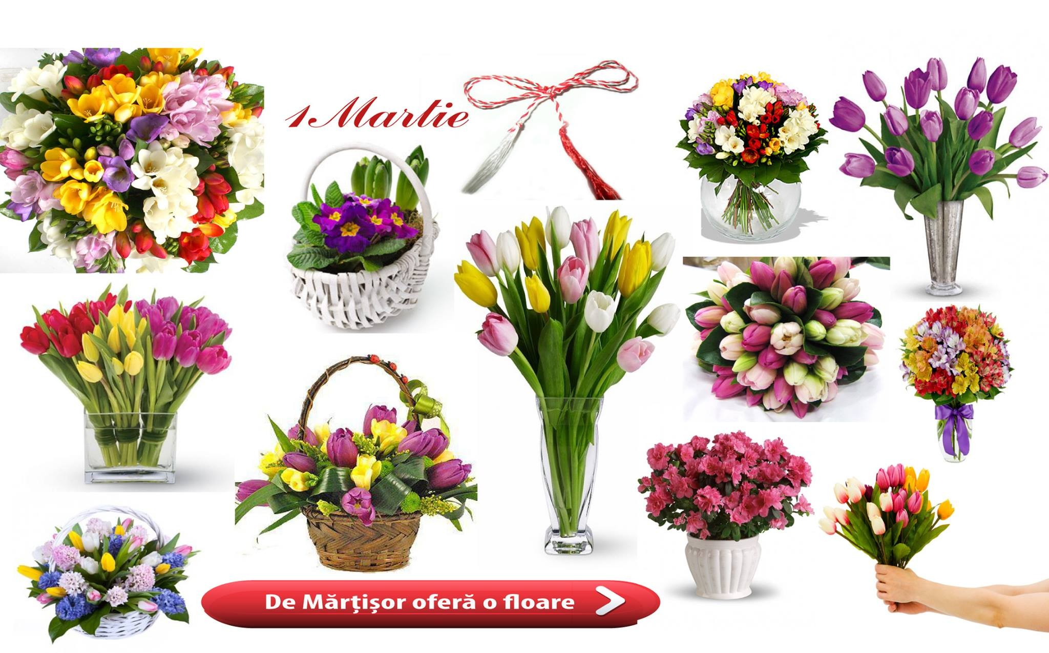 Flori de 1 Martie