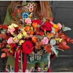 Sertar cu flori de toamna