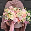 Cutie cu flori pastel Magic Pink