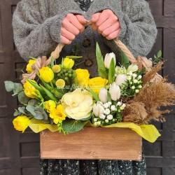 Aranjament trandafiri cu livrare flori la Cluj