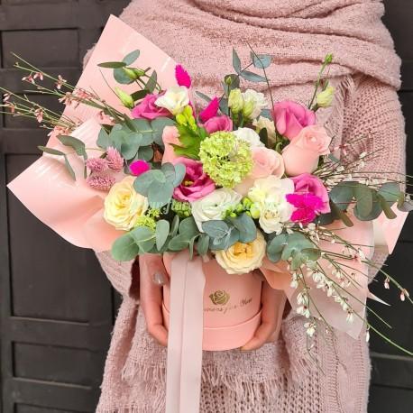 Cutie cu flori