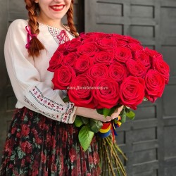 Dragobete Buchet flori trandafiri