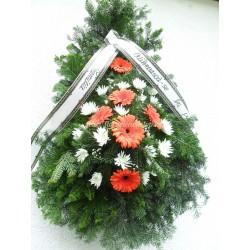 Coroana funerara flori Cluj preturi