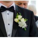 Butoni nunta din flori